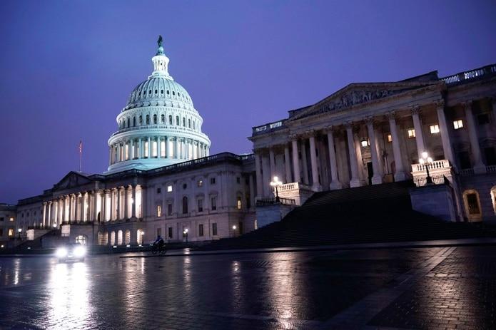 El Capitolio de los Estados Unidos, en Washington, D.C.