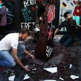Derriban otro Muro de Berlín: una réplica en chocolate