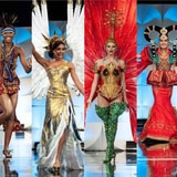 Las 90 candidatas de Miss Universe en traje típico