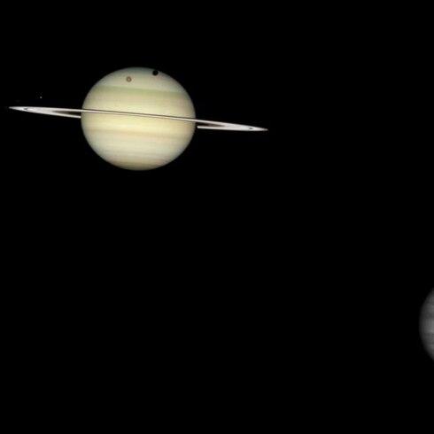 Júpiter y Saturno serán un planeta doble