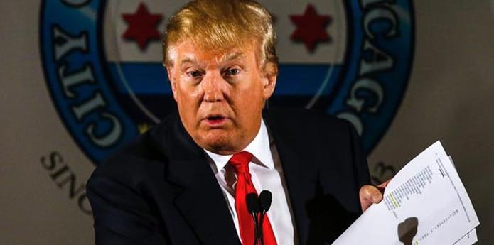 Donald Trump reaccionó mediante una carta, la que publicó en su cuenta de Twitter. (EFE)