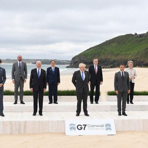Inicia la cumbre del G7 en Inglaterra