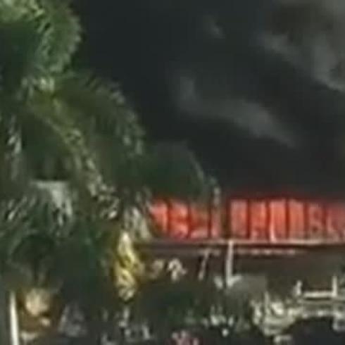 Fuego en Ponce