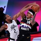 Denver no se quitó y empató su serie contra los Clippers