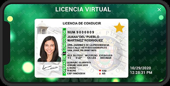 El secretario Carlos Contreras Aponte indicó que la licencia virtual puede mostrarse en una intervención policíaca.