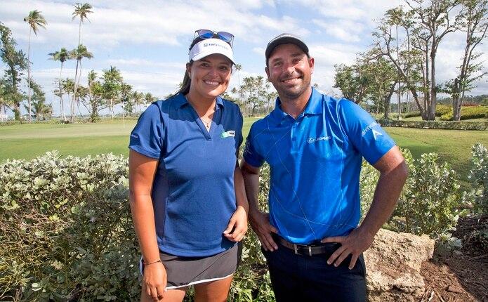 Marifé Torres y Rafa Campos serán los primeros golfstas boricuas en participar en unos Juegos Olímpicos.