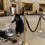 Así quedó el Capitolio federal
