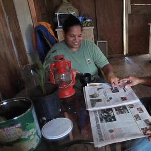 Comunidad de Mayagüez sin luz
